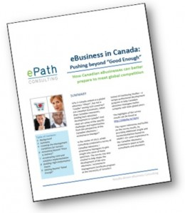 eCommerce Management in Canada | Survey Report | ePath