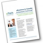"2013 Survey Report: eBusiness in Canada – Pushing beyond ""Good Enough"""